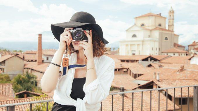 fotografia turista