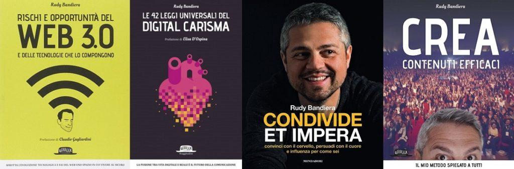 Rudy Bandiera, anche autore di libri sul digital marketing