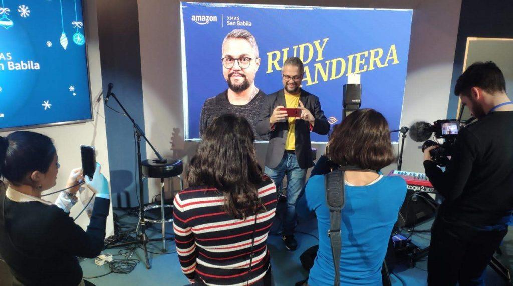 Rudy Bandiera a un evento