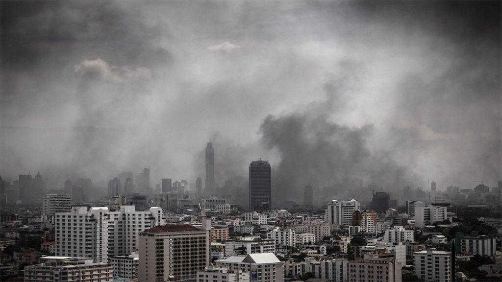 Inquinamento, smog e polveri sottili in città