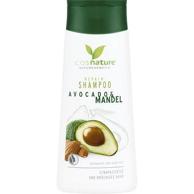 Shampoo bio per capelli secchi COSNATURE – Shampoo Avocado & Mandorle (200ml)