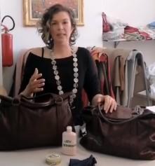 manutenzione borsa in cuoio