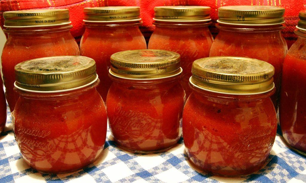 Conserve di pomodoro home made