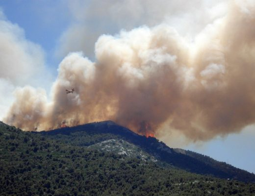 Incendi 2021, fumo