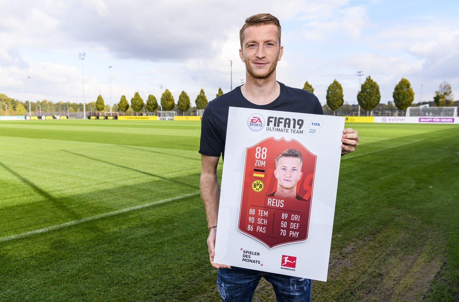 Reus Player of the Month di settembre di Bundesliga