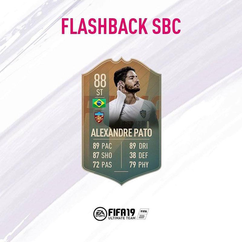 FIFA 19 Sfide Creazione Rosa: Alexandre Pato. Requisiti, Premi e Soluzioni