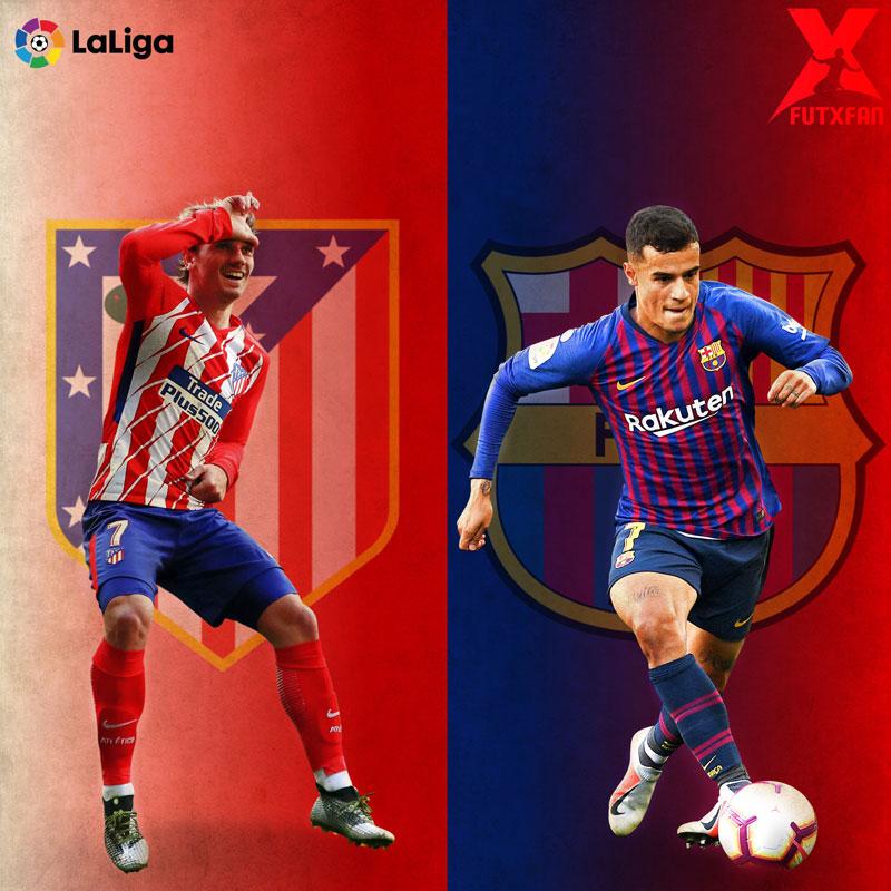 Atlético Madrid vs Barcellona