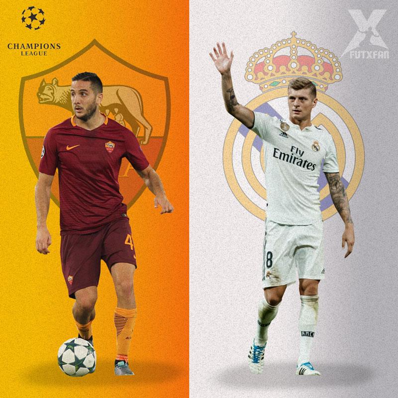 Roma vs Real Madrid