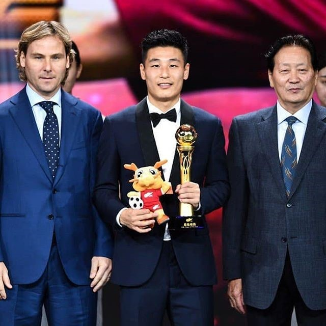 Wu Lei Player of the Year Chinese Super League