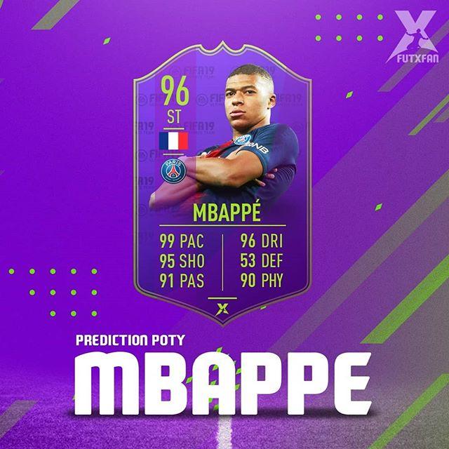 Mbappe POTY