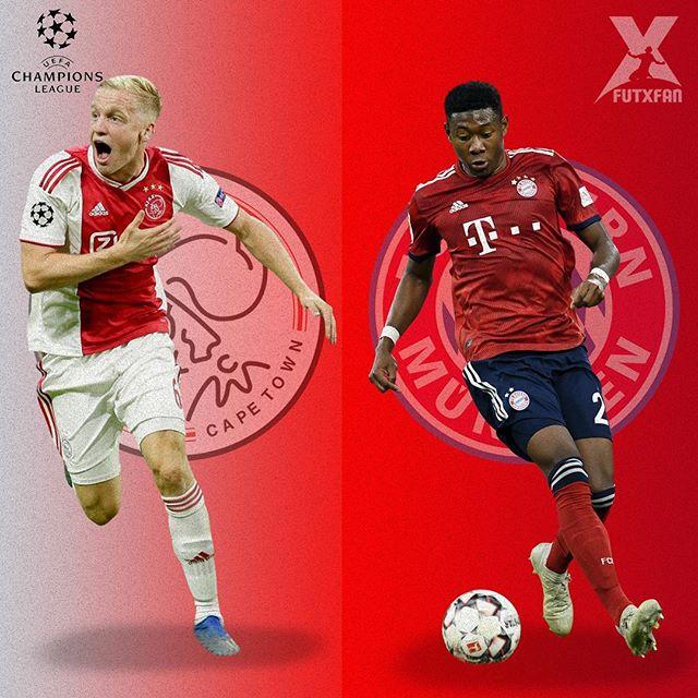 Ajax vs Bayern Monaco