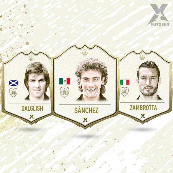 Dalglish,Hugo Sanchez e Zambrotta