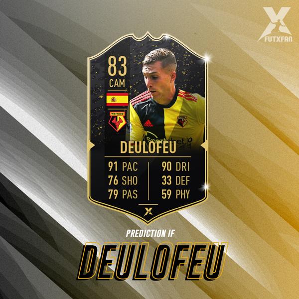 Gerard Deulofeu Prediction IF