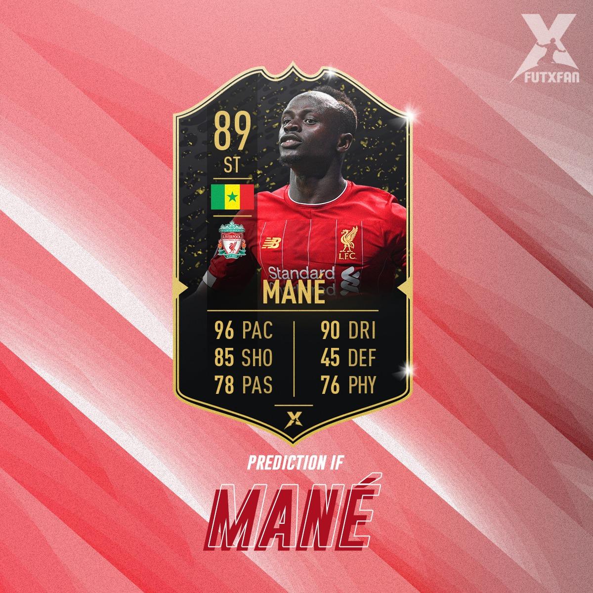 Sadio Manè Prediction IF