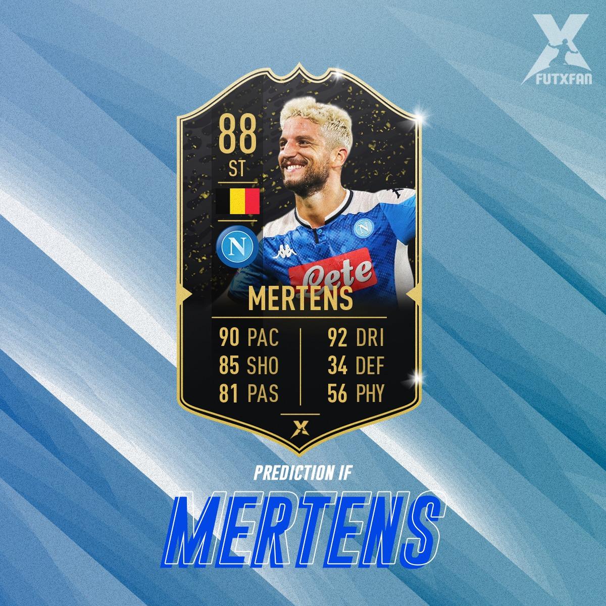 Dries Mertens Prediction IF TOTW 1