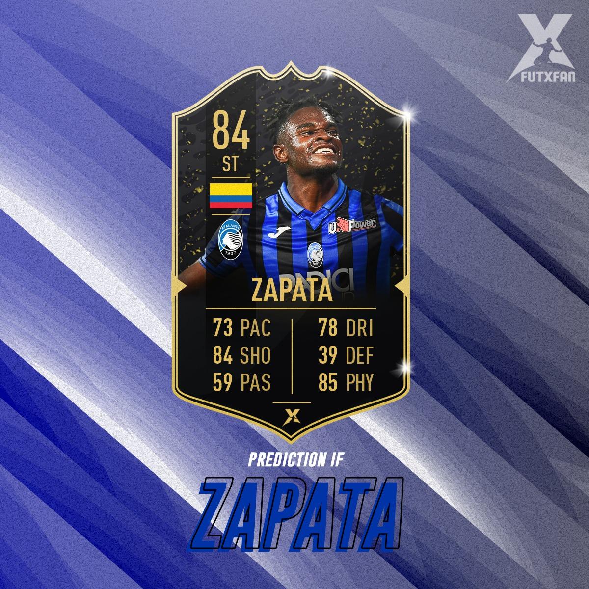 Duvan Zapata Prediction IF TOTW 1