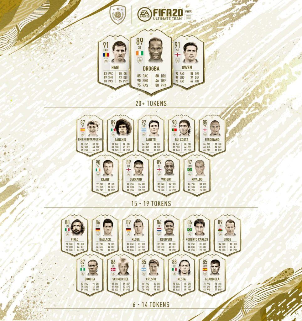 Icon Swaps - gli scambi icone FIFA 20