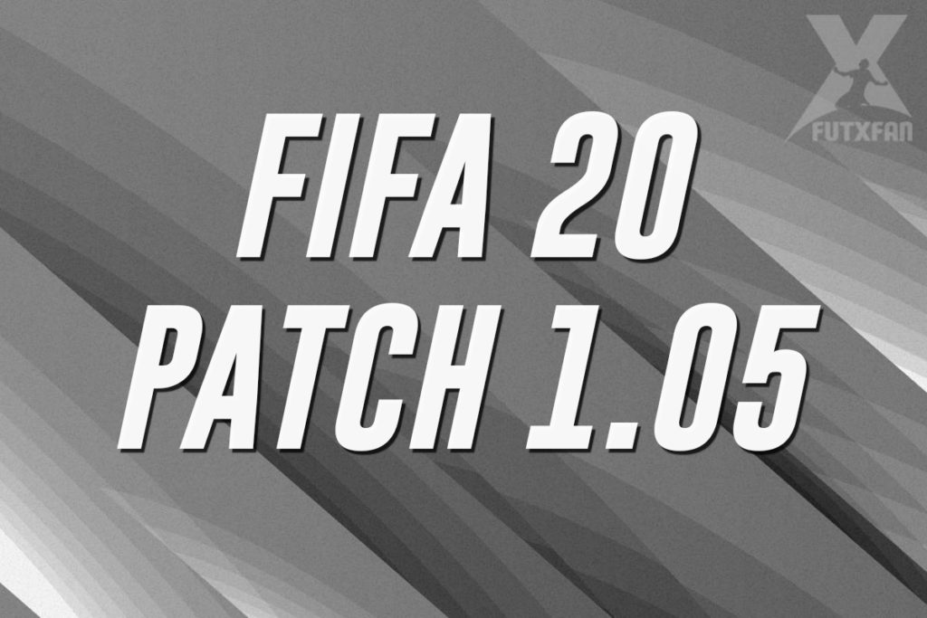 FIFA 20 patch 1.05