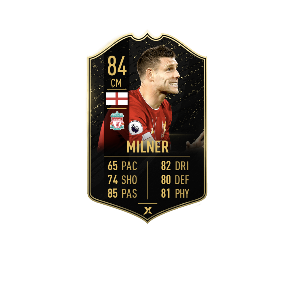 Prediction card TOTW 4: James Milner