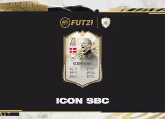 FIFA 21: SBC Peter Schmeichel Icona Momenti