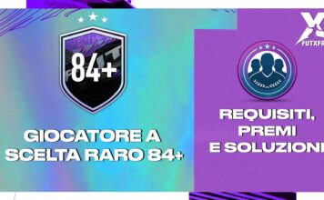 FIFA 21: SBC GIOCATORE RARO A SCELTA 84+