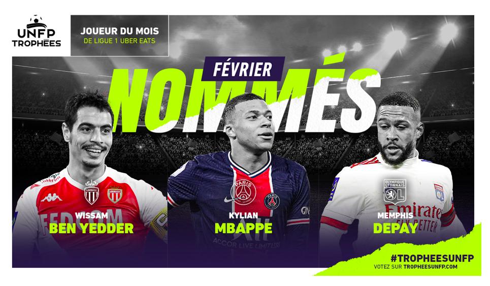Candidati POTM di Ligue One di Febbraio