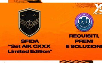 SET AIK CXXX Limited Edition