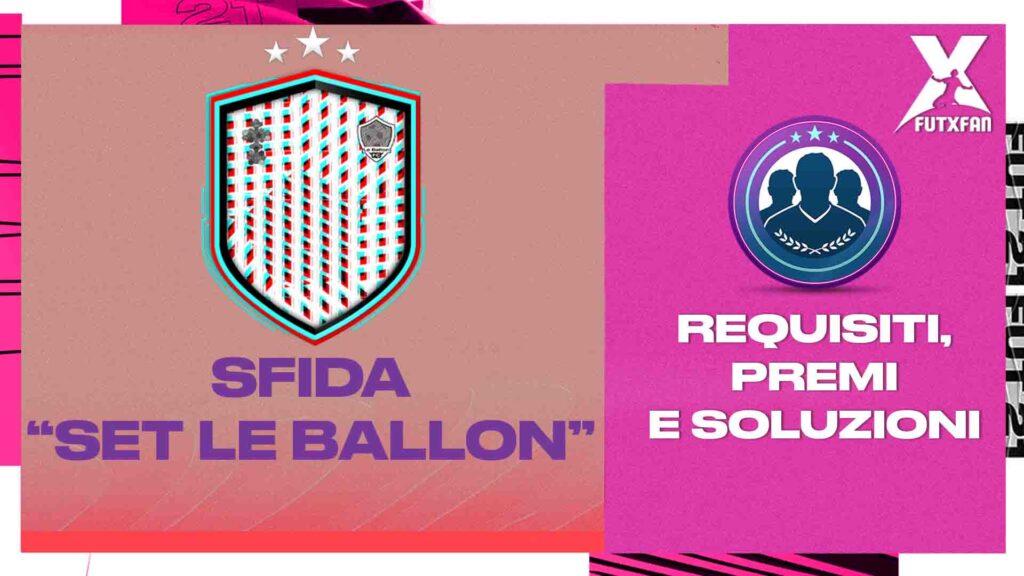 SBC Set Le Ballon