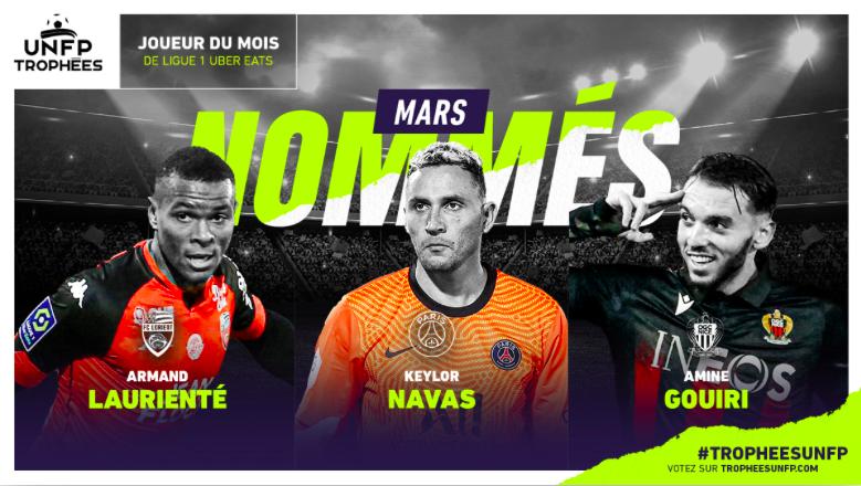 Candidati POTM Ligue One di Marzo