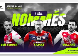 Candidati POTM Ligue 1 di Aprile