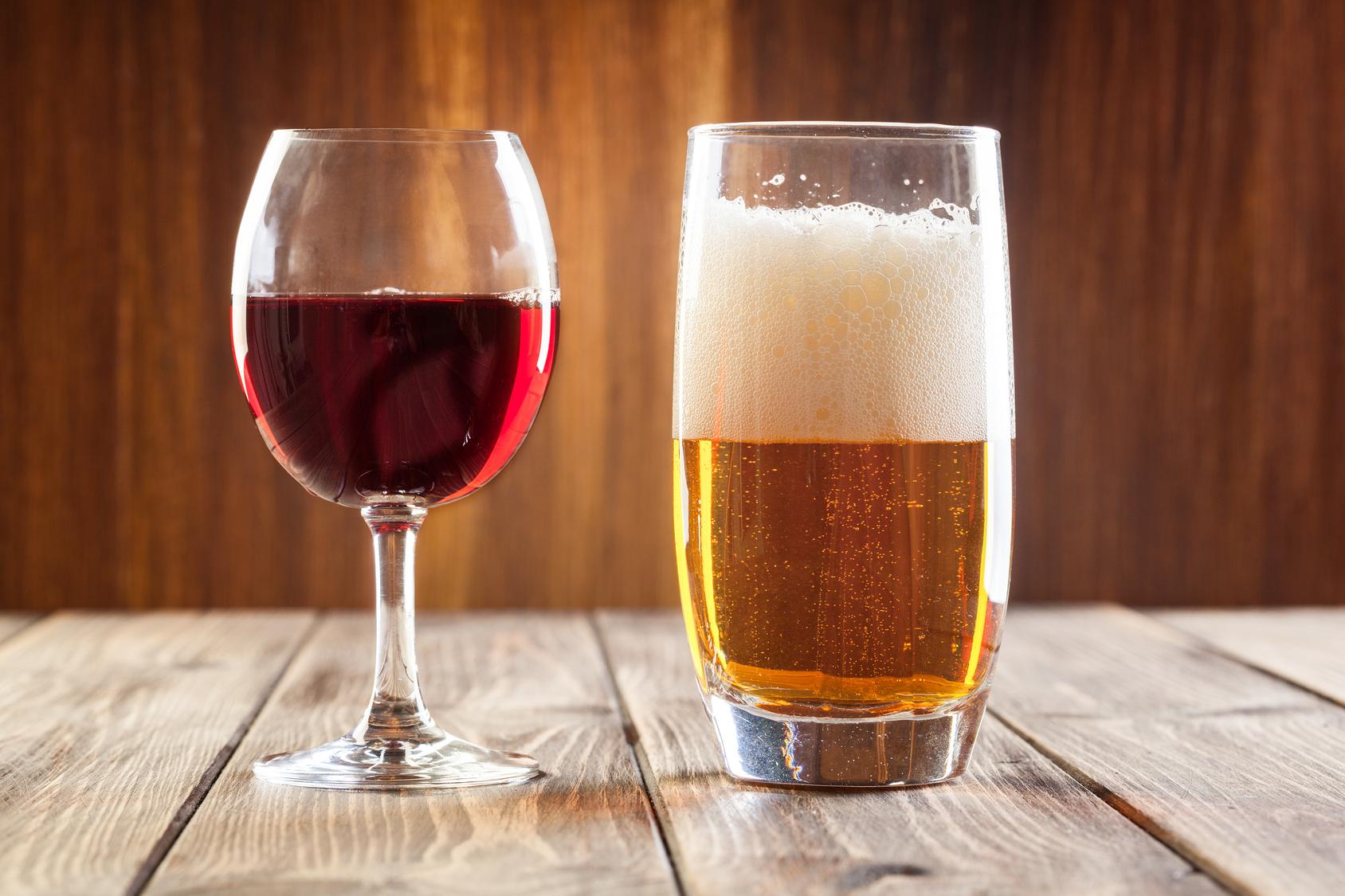 attenzione vino birra