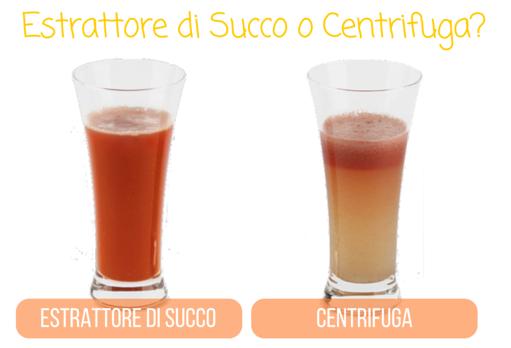 estrattore di succo o centrifuga