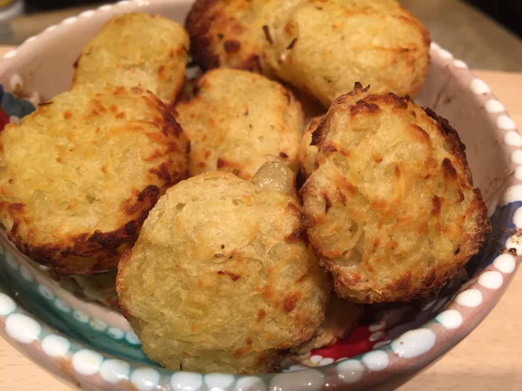 Hashbrowns- all-inglese