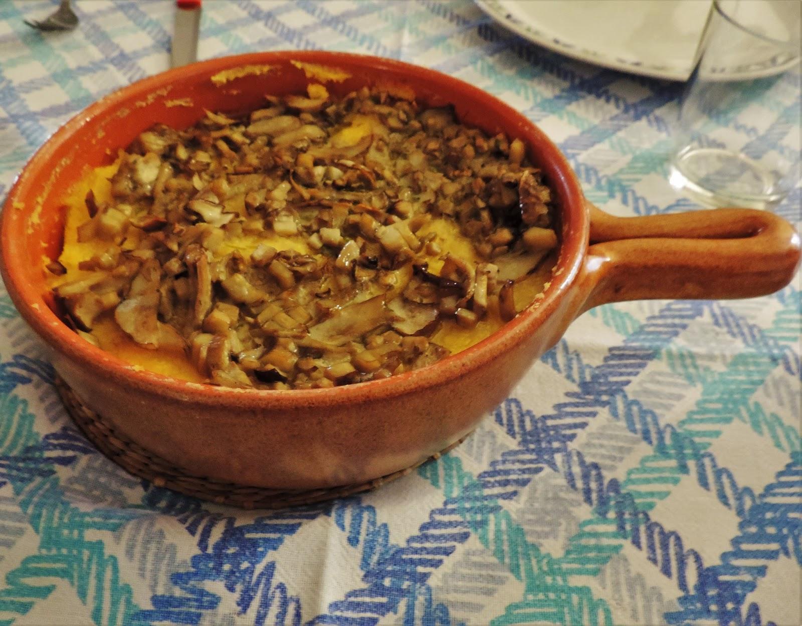 polenta-con-funghi