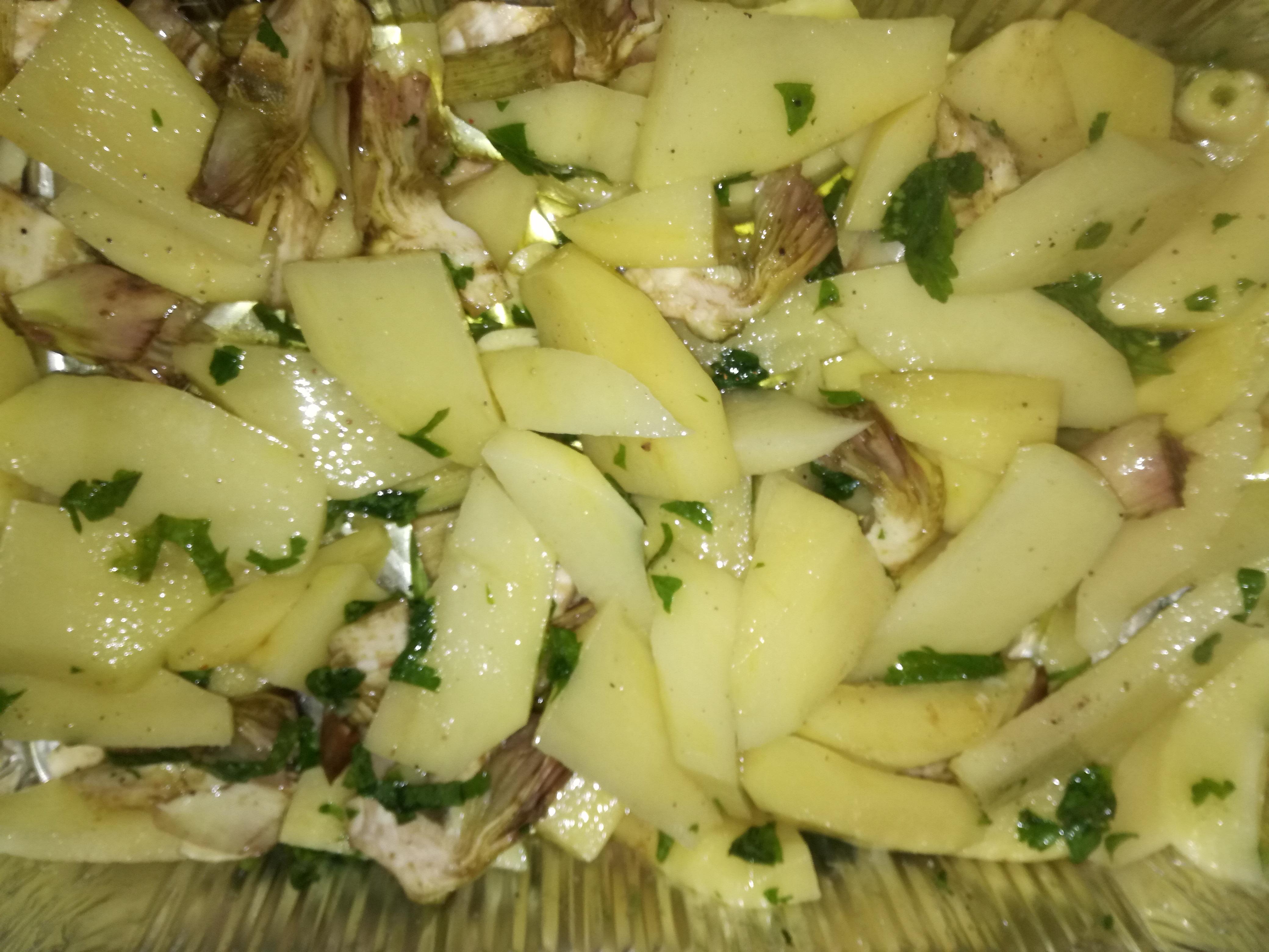 carciofi-patate