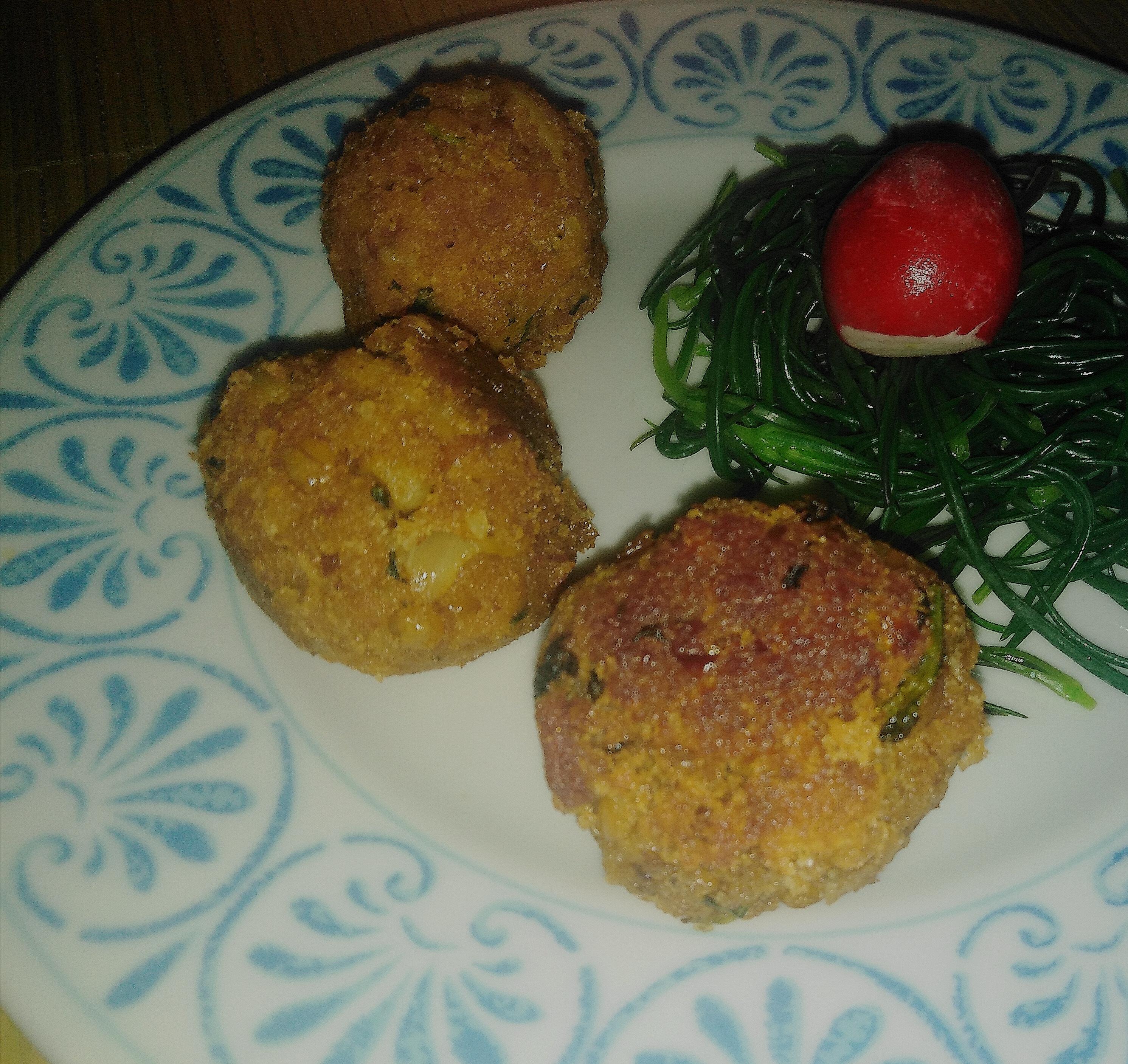Polpette-lenticchie-ravanello