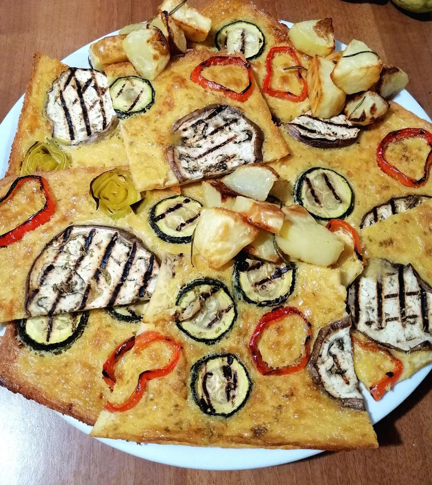 farinata-verdure