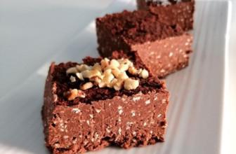 Brownies proteici: ricetta senza cottura e gluten free