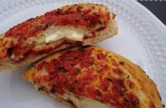 Pizze ripiene ai due gusti: ricetta ideale per l'aperitivo