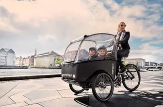 Cargo-Bike, ideale per tutte le mamme.