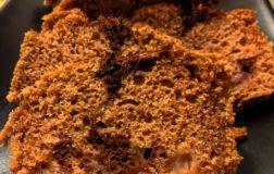 Plumcake alle pere variegato al cacao – Ricetta veg e facile