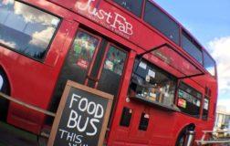Just FaB a Londra il bus ristorante dove gustare lo street food siciliano e vegano