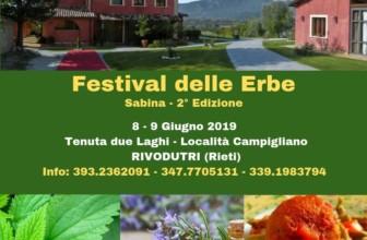 Festival delle Erbe della Sabina: a Rieti due giorni per scoprire le erbe spontanee