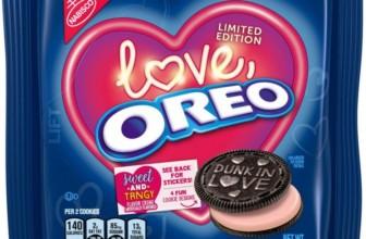 Oreo lancia per San Valentino i biscotti Love Oreo in edizione limitata