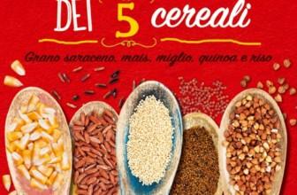 Il cucchiaio dei 5 cereali: il libro di Felicia Sguazzi che ci farà scoprire i cereali senza glutine.