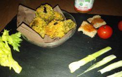 Pepite di spinaci e olive senza uova, piatto veloce