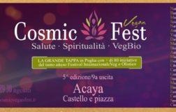 La grande tappa del Cosmic Fest 2019 in Puglia