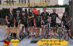 Paolo Barbon in bici da Torino a Madrid, contro la corrida e lo sfruttamento degli animali