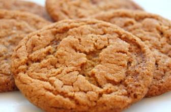 Per un natale vegan, i biscotti allo zenzero.
