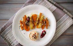 Bastoncini di verdure autunnali arrosto – Ricetta light